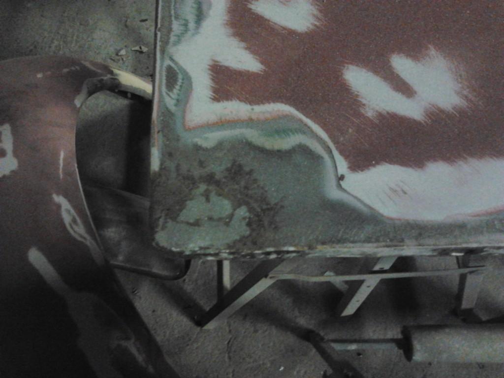 Led loading door panel repair