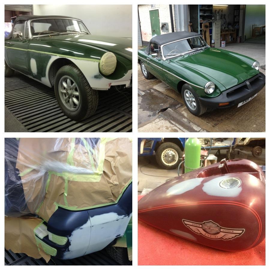 partial repaint and rust repairs