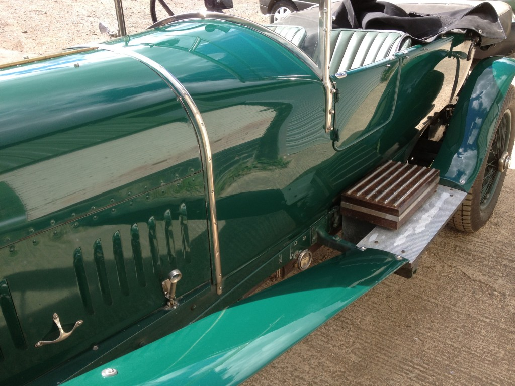 vintage bentley paint retoration