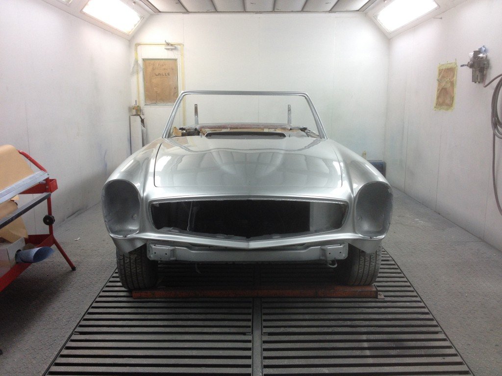mercedes 230 250 280 sl resoration