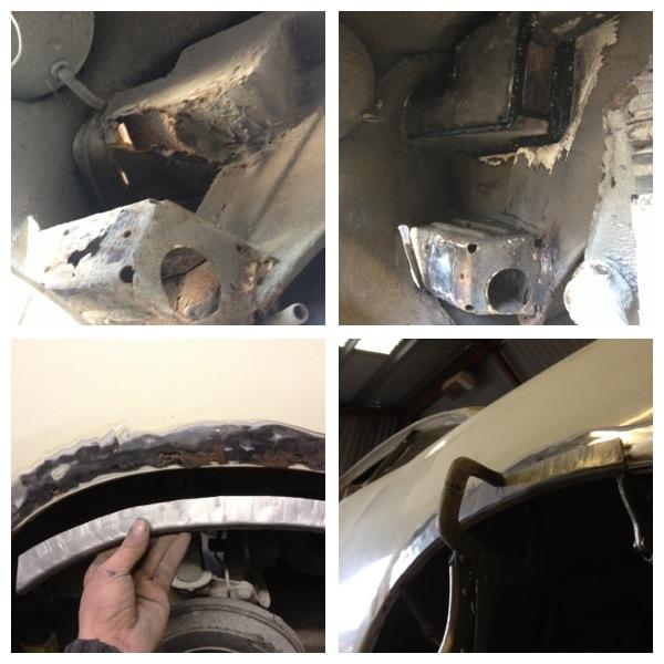 VW Karmann ghia welding