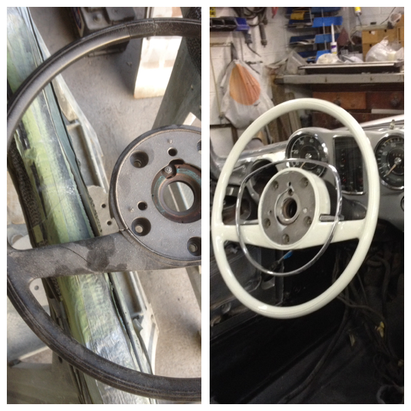 steering wheel restoration