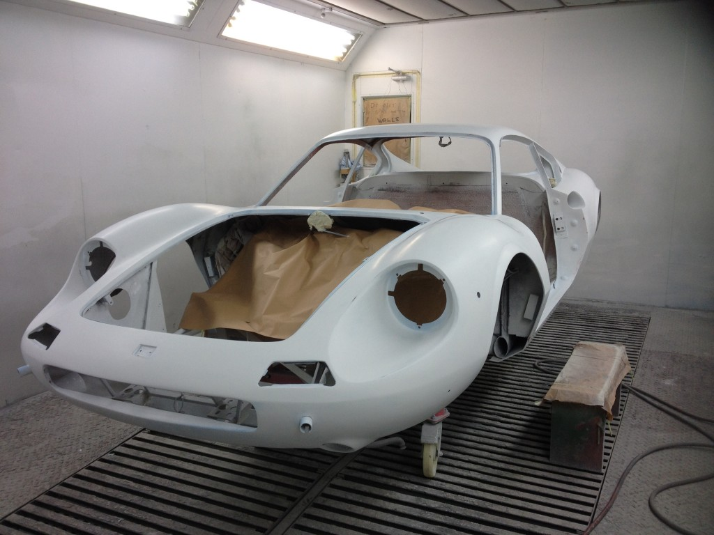 Ferrari Dino ready for repaint